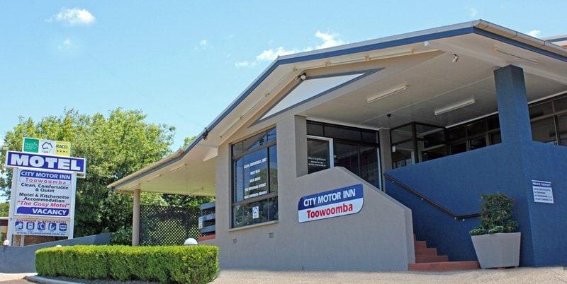 City Motor Inn Motels 195a West St Toowoomba