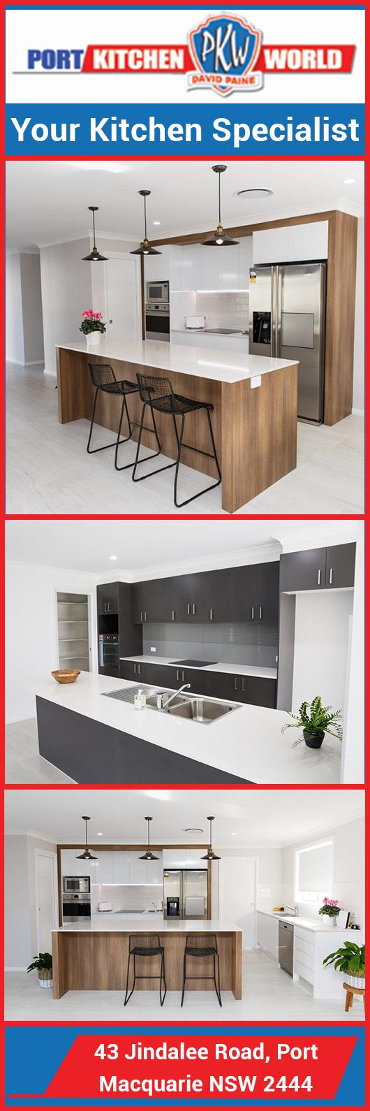 Port Kitchen World - Kitchen Renovations & Designs - 43 Jindalee Rd