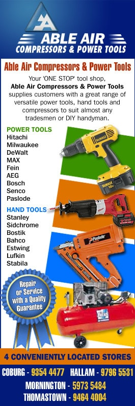 Able Air & Power Tools - Power Tools & Repairs - 150 Gaffney