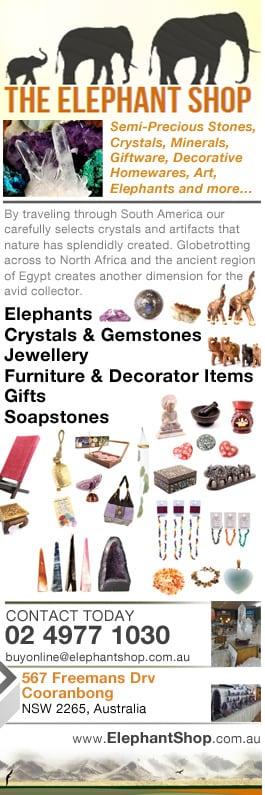 4368a23982823 The Elephant Shop - Gift Shop - 567 Freemans Dr - Cooranbong