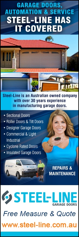Steel-Line Garage Doors - Promotion  sc 1 st  Yellow Pages & Steel-Line Garage Doors - Garage Doors u0026 Fittings - 111 National Blv ...