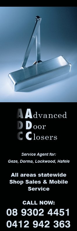 Advanced Door Closer Services - Promotion & Advanced Door Closer Services - Doors \u0026 Door Fittings - Unit 2 17 ...