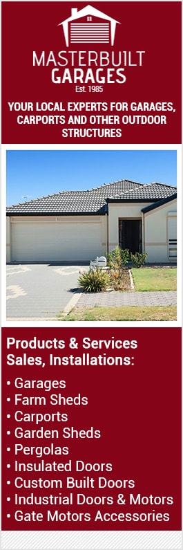 Garden Sheds Queanbeyan masterbuilt garages pty ltd - garage doors & fittings - 32 aurora