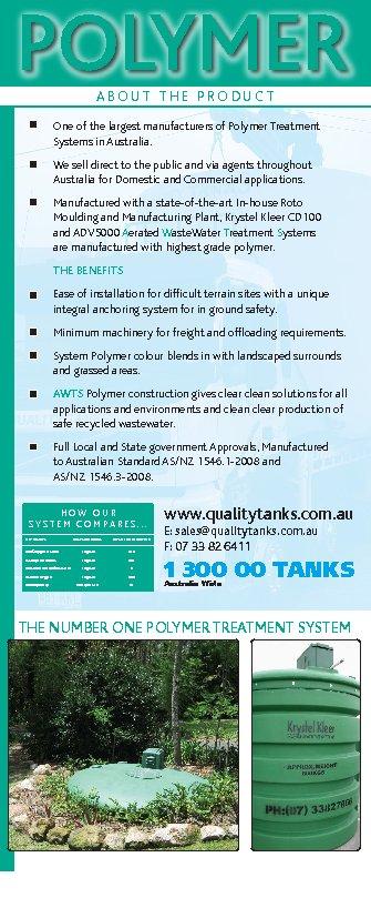 Quality Tanks Sewage Amp Waste Water Treatment 59