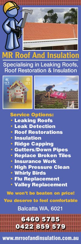 Mr Roof And Insulation   Promotion
