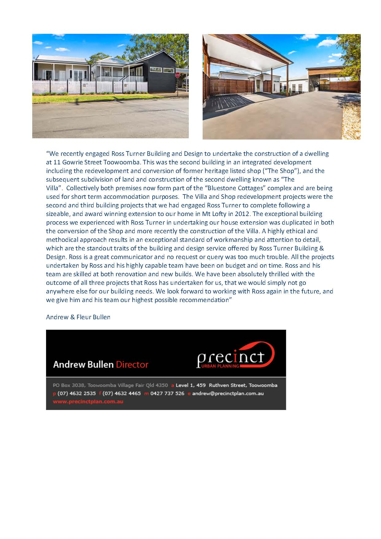 Ross Turner Building and Design - Builders & Building