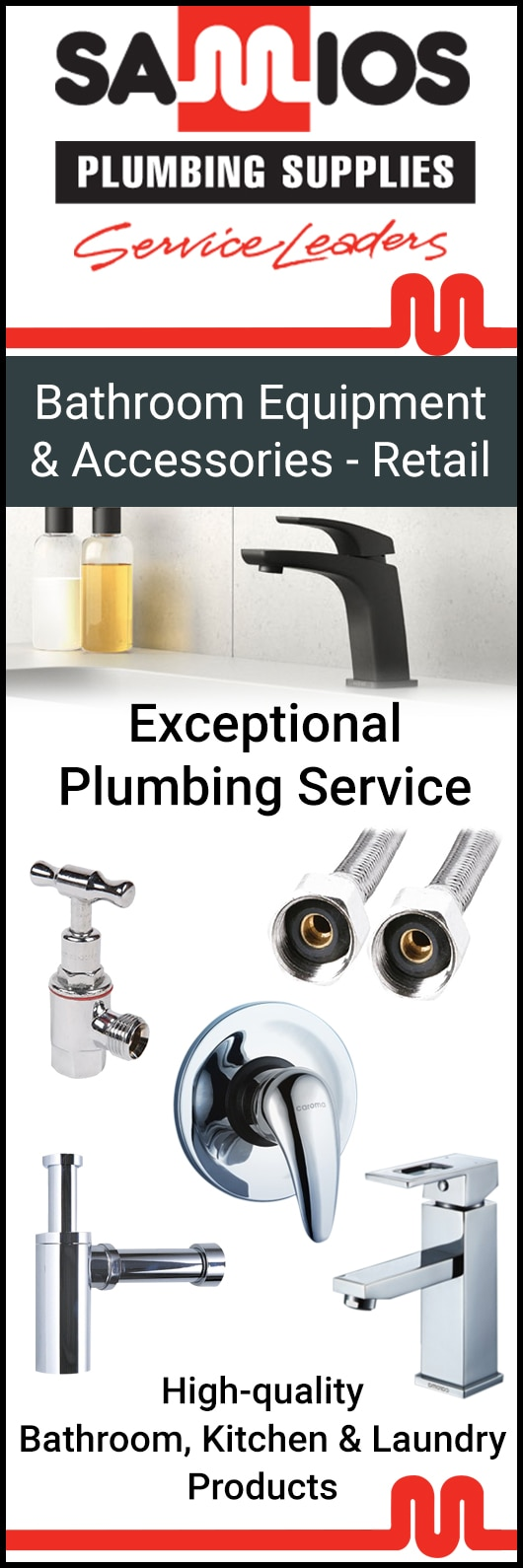 Samios Plumbing - Bathroom Accessories & Equipment - Hobart