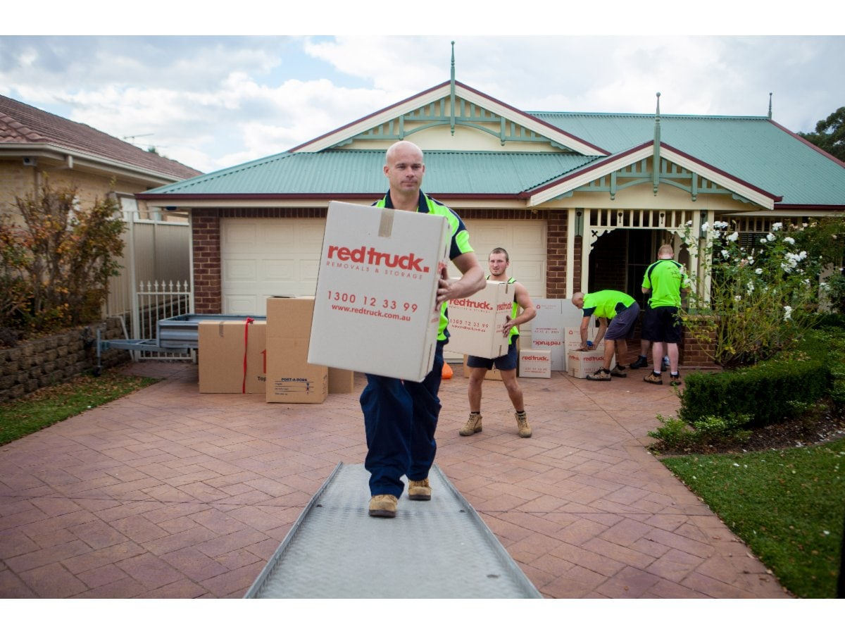Red Truck Removals Amp Storage Furniture Removalists