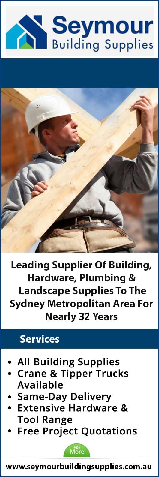 Seymour Building Supplies Gladesville Nsw