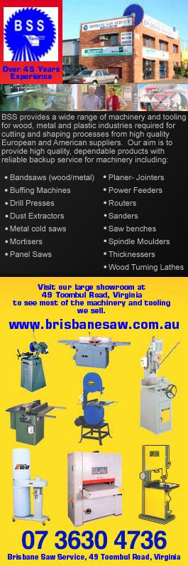 Brisbane Saw Service Woodworking Machinery 49 Toombul Rd Northgate