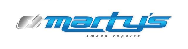 Marty's Smash Repairs - logo