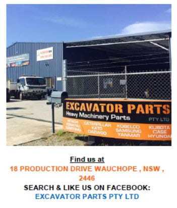 Excavator Parts Pty Ltd - Excavation & Earth Moving Equipment - Port