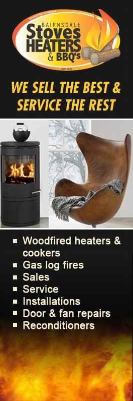 Bairnsdale Stove Heaters & BBQs - Fireplaces & Fireplace