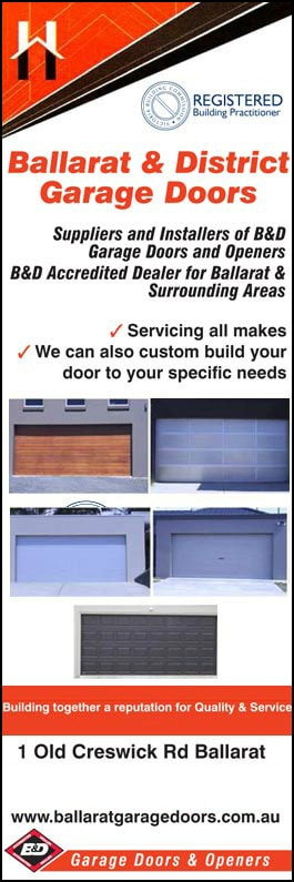 Ballarat District Garage Doors Garage Doors Fittings 1 Old