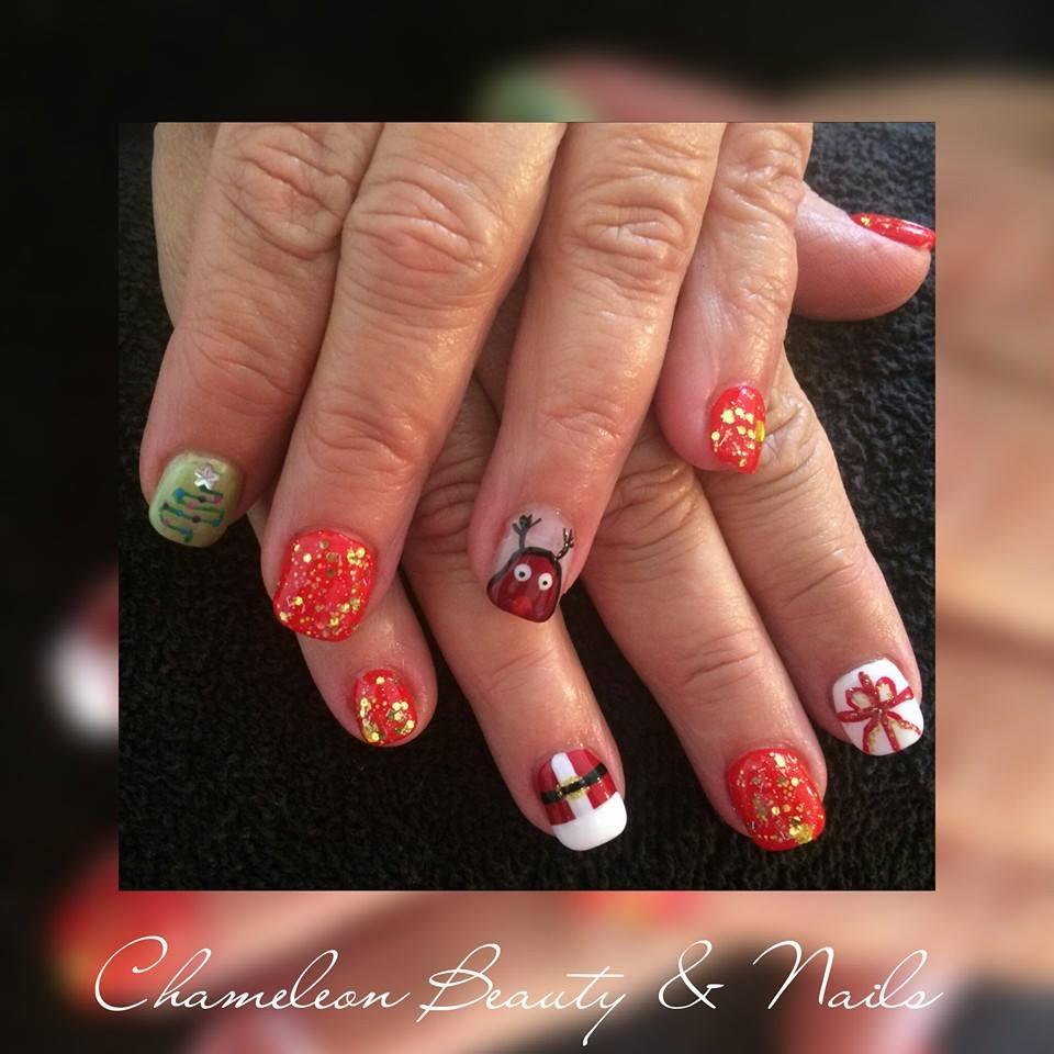 Chameleon beauty nails beauty salons 54 walker st for Acrylic nails salon brisbane