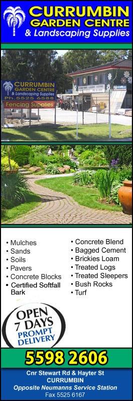 Currumbin Garden Centre Landscape Supplies Cnr Stewart Rd And Hayter St Currumbin Waters