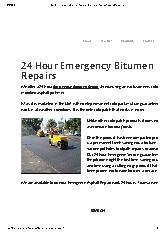 Bitumend Asphalt and Civil Construction - Asphalt & Bitumen