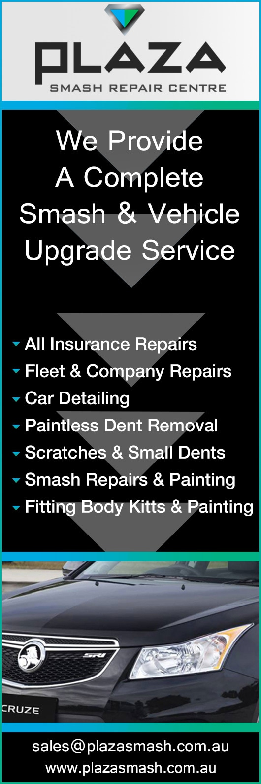 Plaza Smash Repairs - Panel Beater & Painters - PERTH