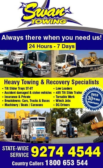 Swan Towing Service - Towing Services - BUNBURY