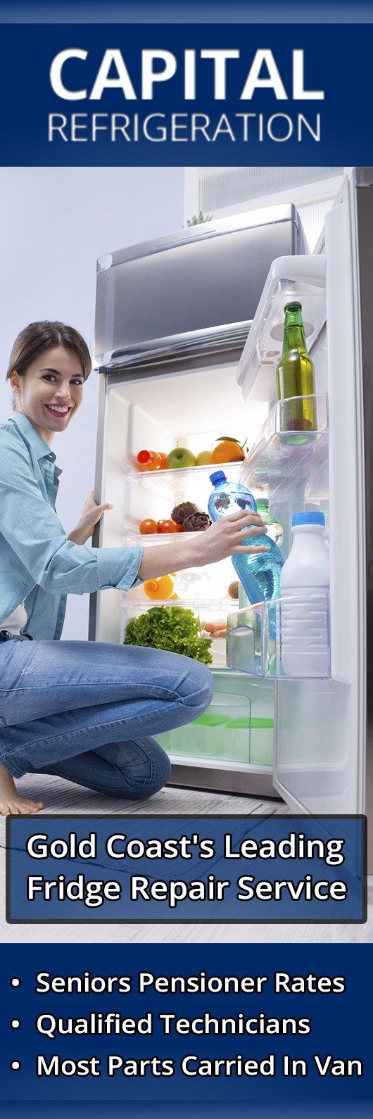 Capital Refrigeration - Fridge Repairs - Runaway Bay