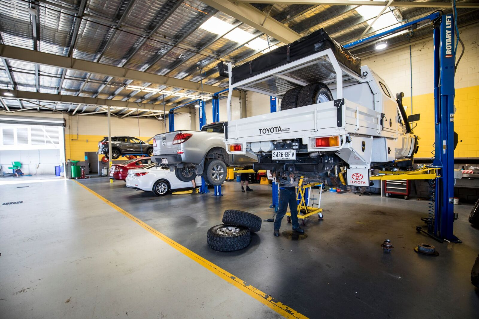 automotive repair centre townsville