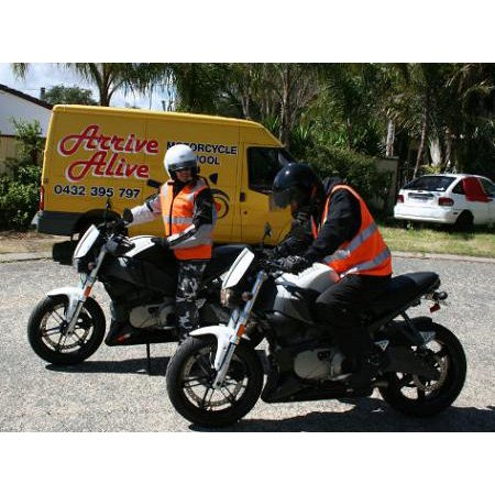 Arrive Alive Motorcycle Training Driving Lessons