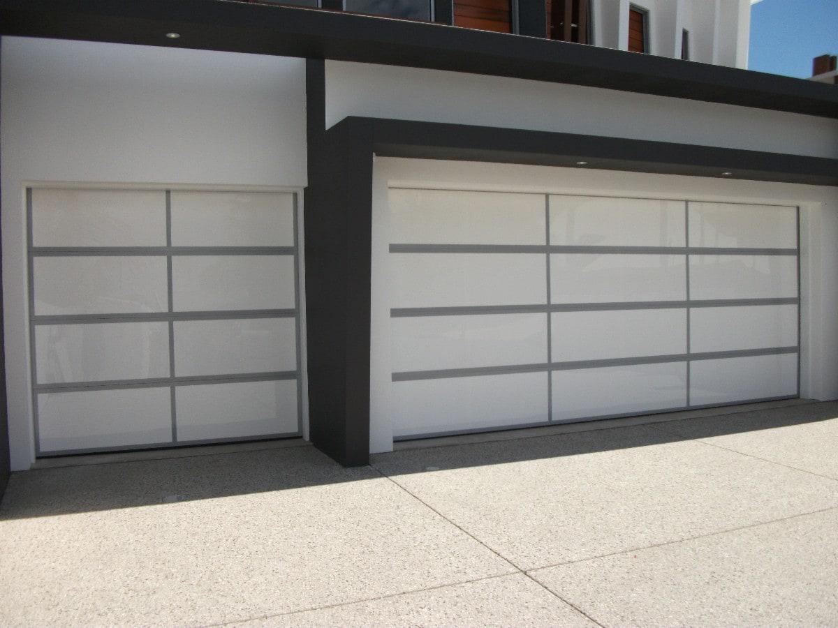 Bu0026D Panelift Icon Sectional Garage Door In Nullarbor Smooth Profile ...