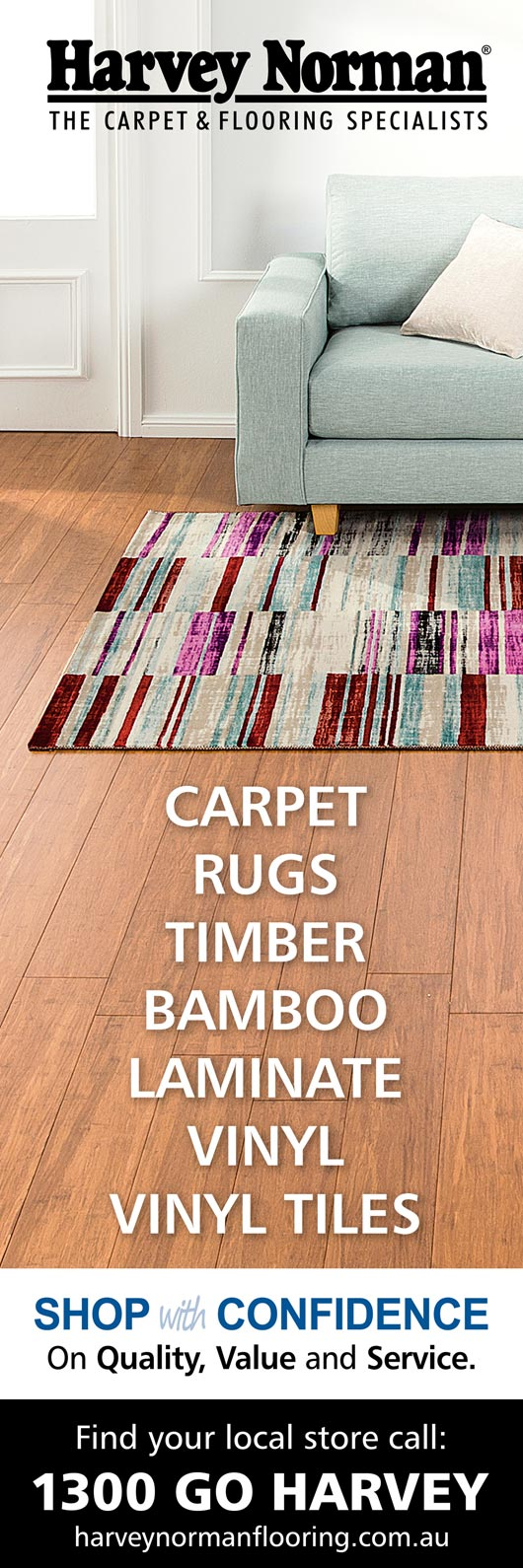 Harvey Norman Carpet and Flooring - Promotion