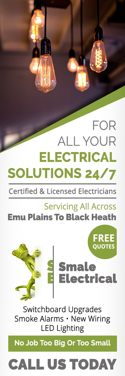 Smale Electrical Electricians Contractors Katoomba Switchboard Wiring Rules Promotion