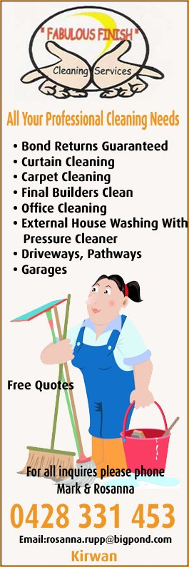 Fabulous Finish Cleaning Services - Commercial & Industrial