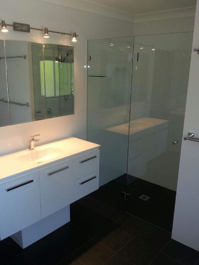 Danish bathrooms glass by jeppesen design pty ltd on for Bathroom design ltd