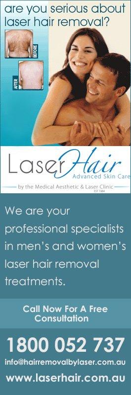 Medical Aesthetic & Laser Clinic Australia - Hair Removal