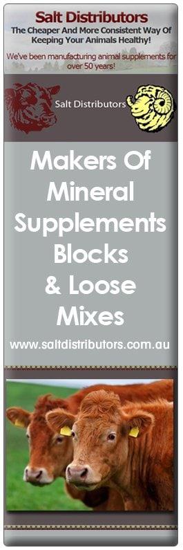 Salt Distributors - Stock Feeds, Fodder & Supplements