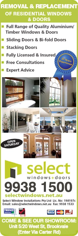 Select Window Installations Pty Ltd - Promotion & Select Window Installations Pty Ltd - Aluminium Windows - 5 20 West ...