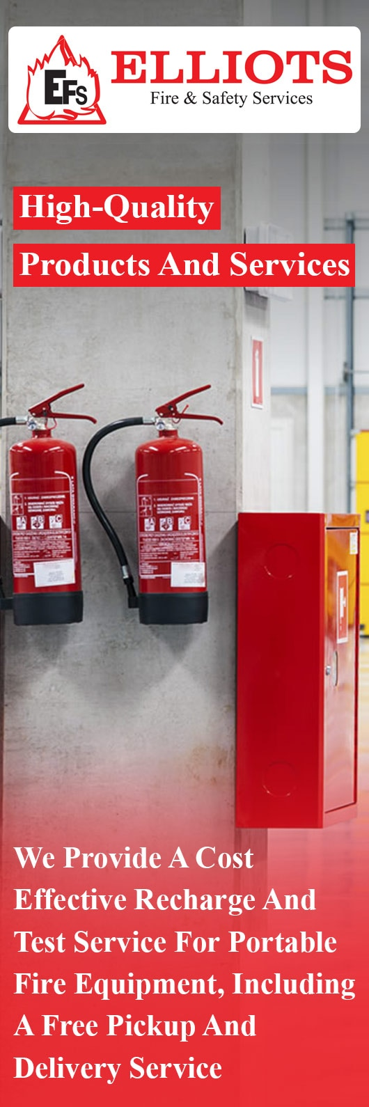 Elliots Fire & Safety Services - Fire Safety Equipment