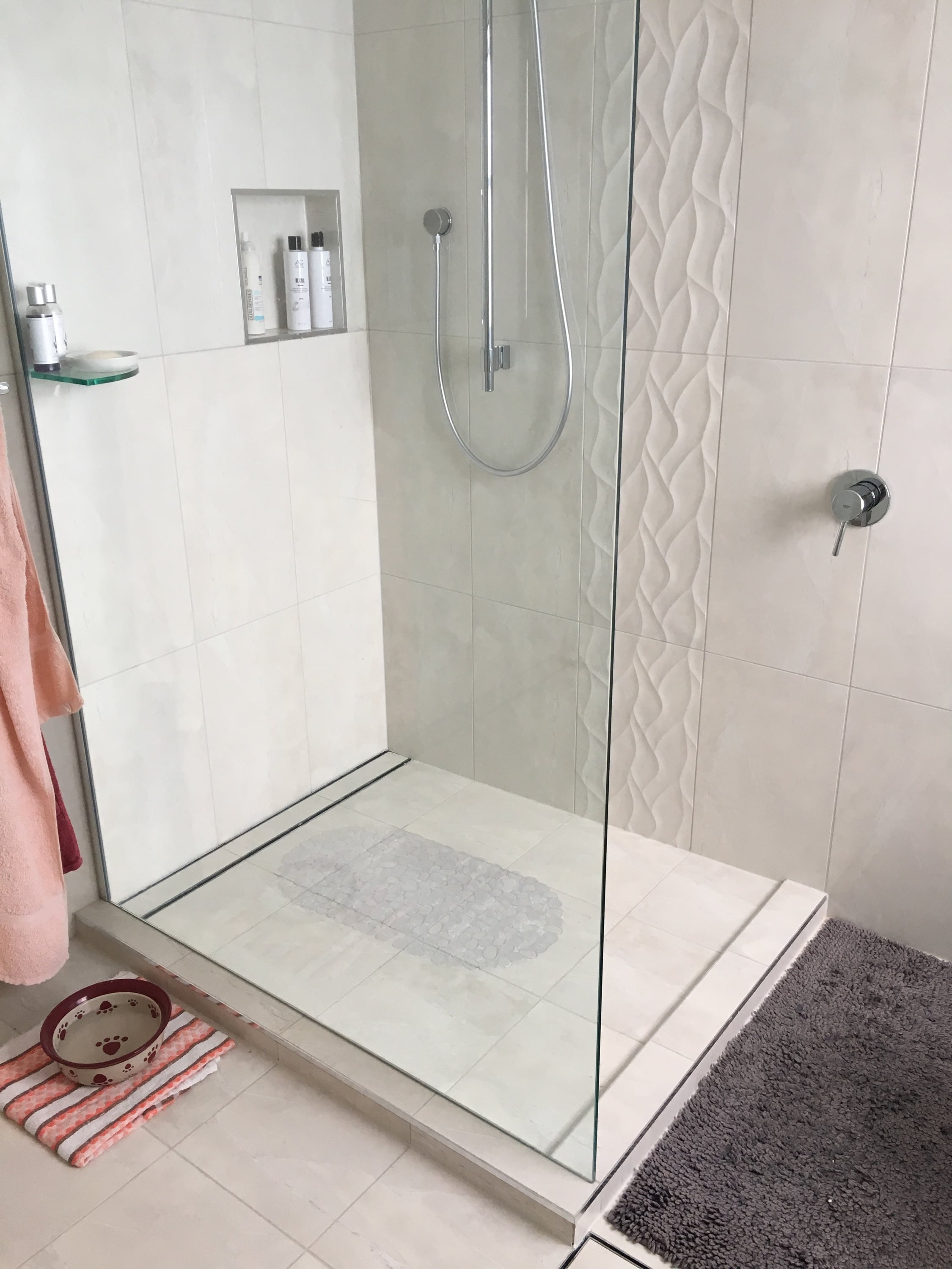 in tile bathroom unique h best awesome shower tiling laying vinyl of ideas beautiful flooring plank