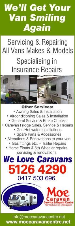 Moe Caravan Service & Repair Centre - Caravan & Camper Trailer
