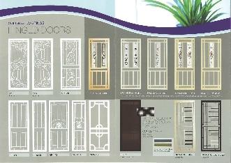 Hinged Doors & Osborne Flyscreens u0026 Security Doors - Fly Screens - MALAGA