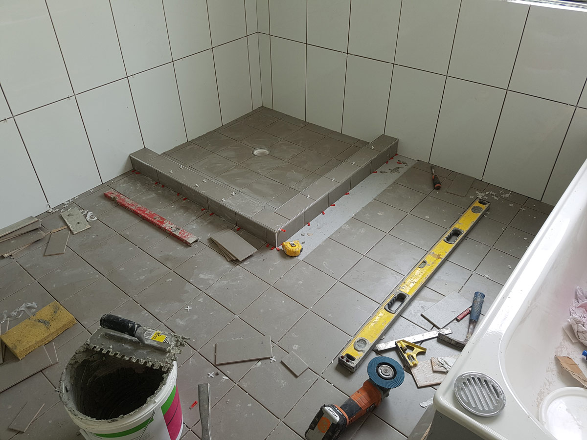 Ceramic tiling jobs