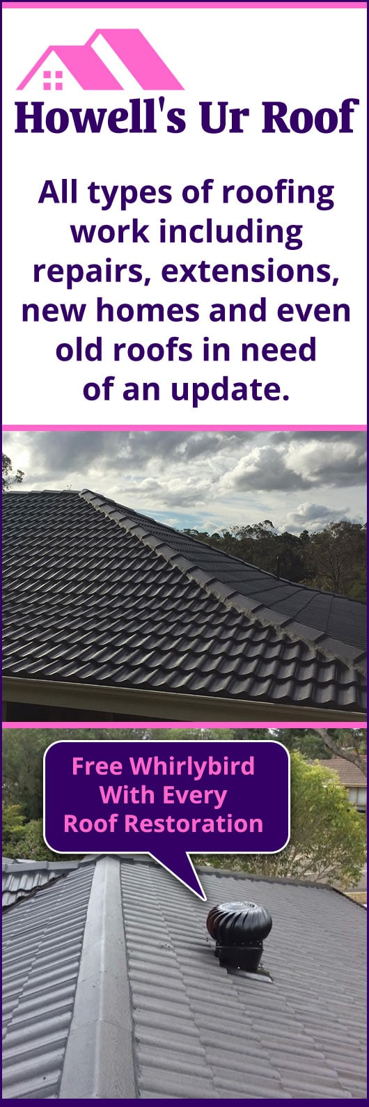 Howell's Ur Roof - Promotion