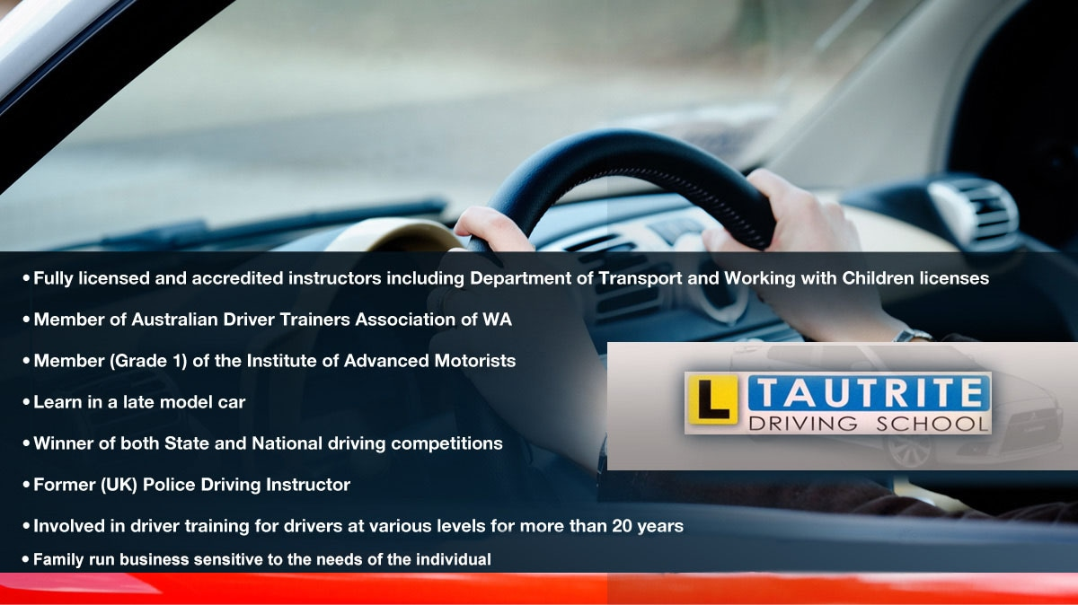 tautrite driving school driving lessons schools joondalup rh yellowpages com au Driving Lessons Block Driving Teacher