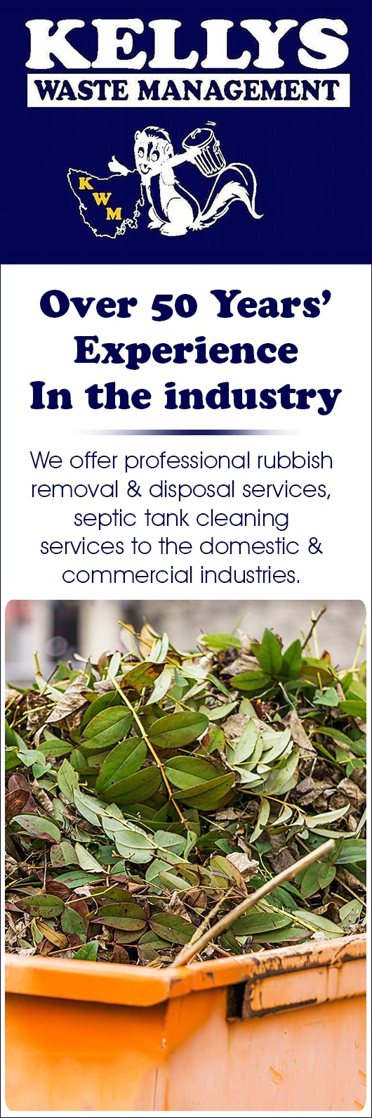 Kelly's Waste Management - Rubbish Removal & Skip Bins - 210 Ridgely