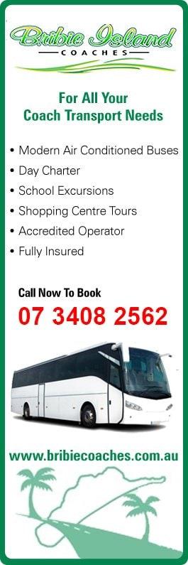 Bribie Island Coaches Pty Ltd Bus Amp Coach Charter Amp Tours 20 26 Armitage St Bribie Island