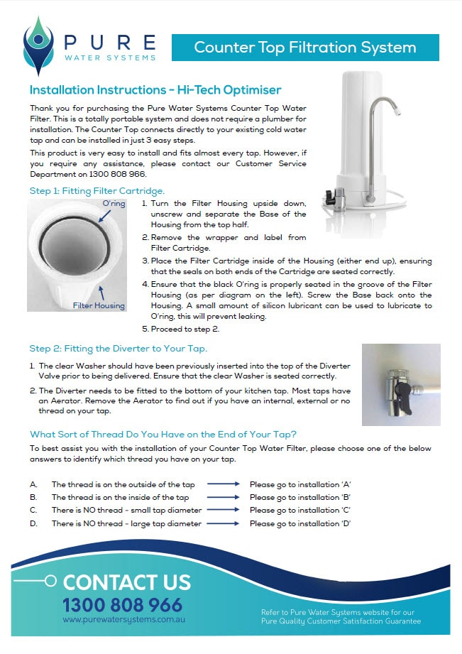 Pure Water Systems (Aust ) Pty Ltd - Water Filters - Perth