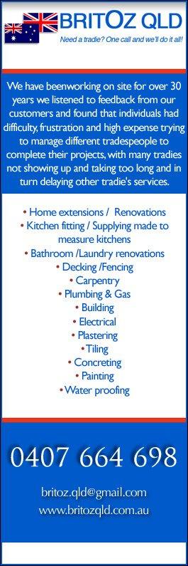 Bathroom Renovations Qld britoz qld pty ltd - bathroom renovations & designs - collingwood park