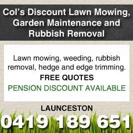 Col 39 s discount lawn mowing garden maintenance and rubbish for Cheap garden maintenance