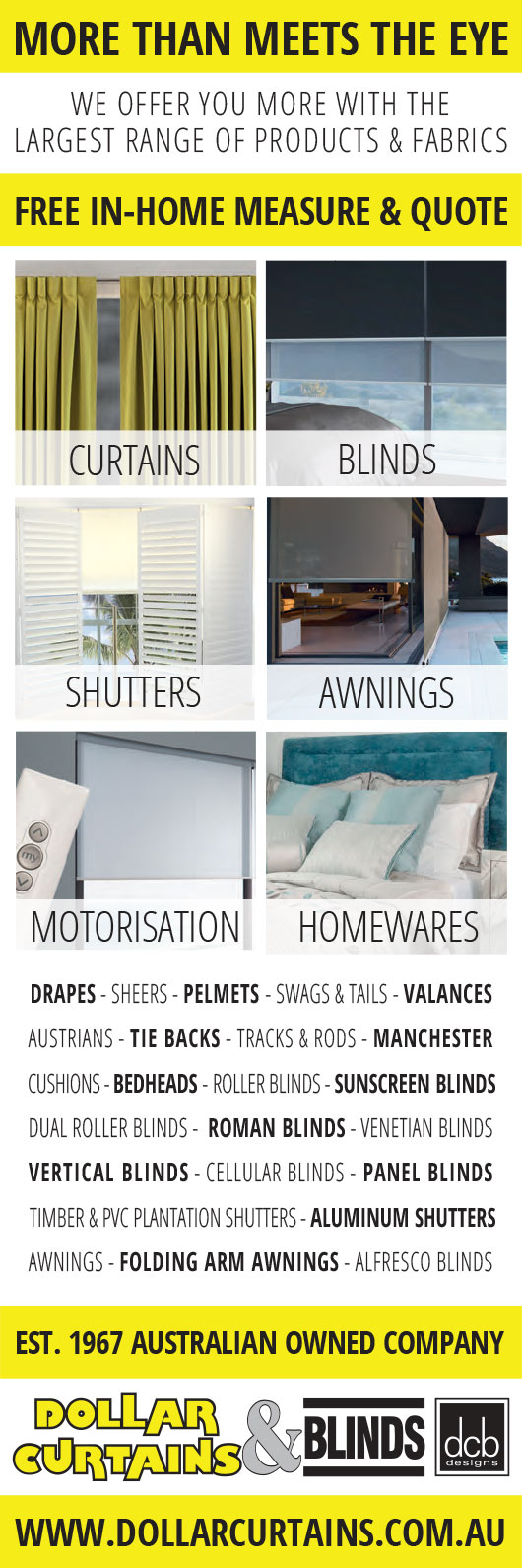 Dollar Curtains & Blinds - Blinds - 6 Ormond Rd - East Geelong