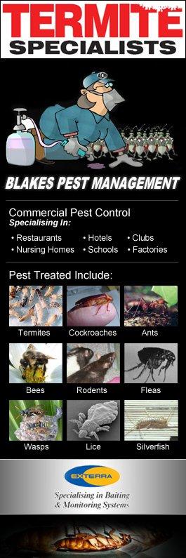Pest Control Melrose Park  Blakes Pest Management - Promotion