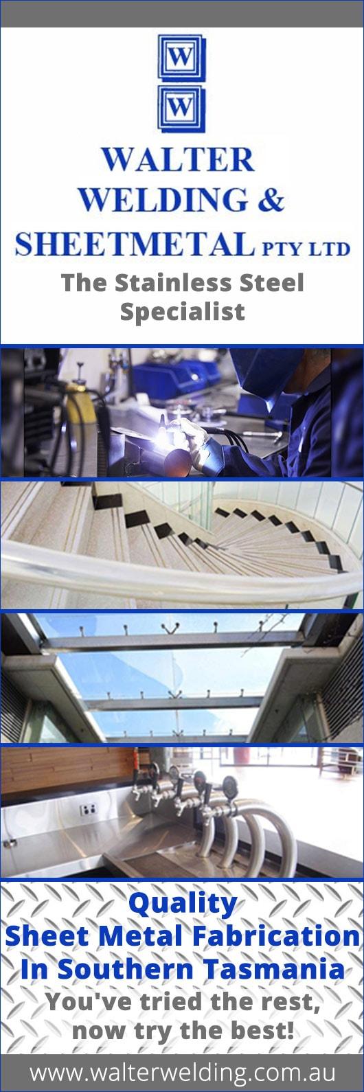 Walter Ltd walter welding sheetmetal pty ltd sheet metal fabricators unit