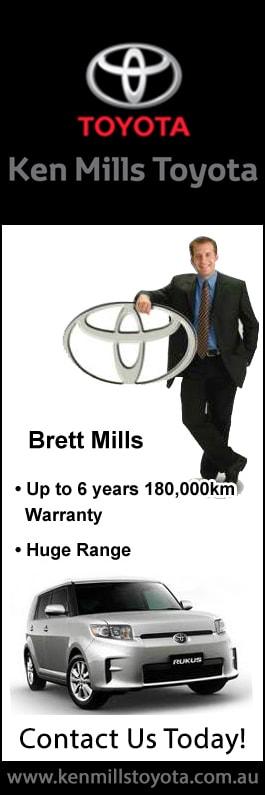 Ken Mills Toyota Nambour Used Cars